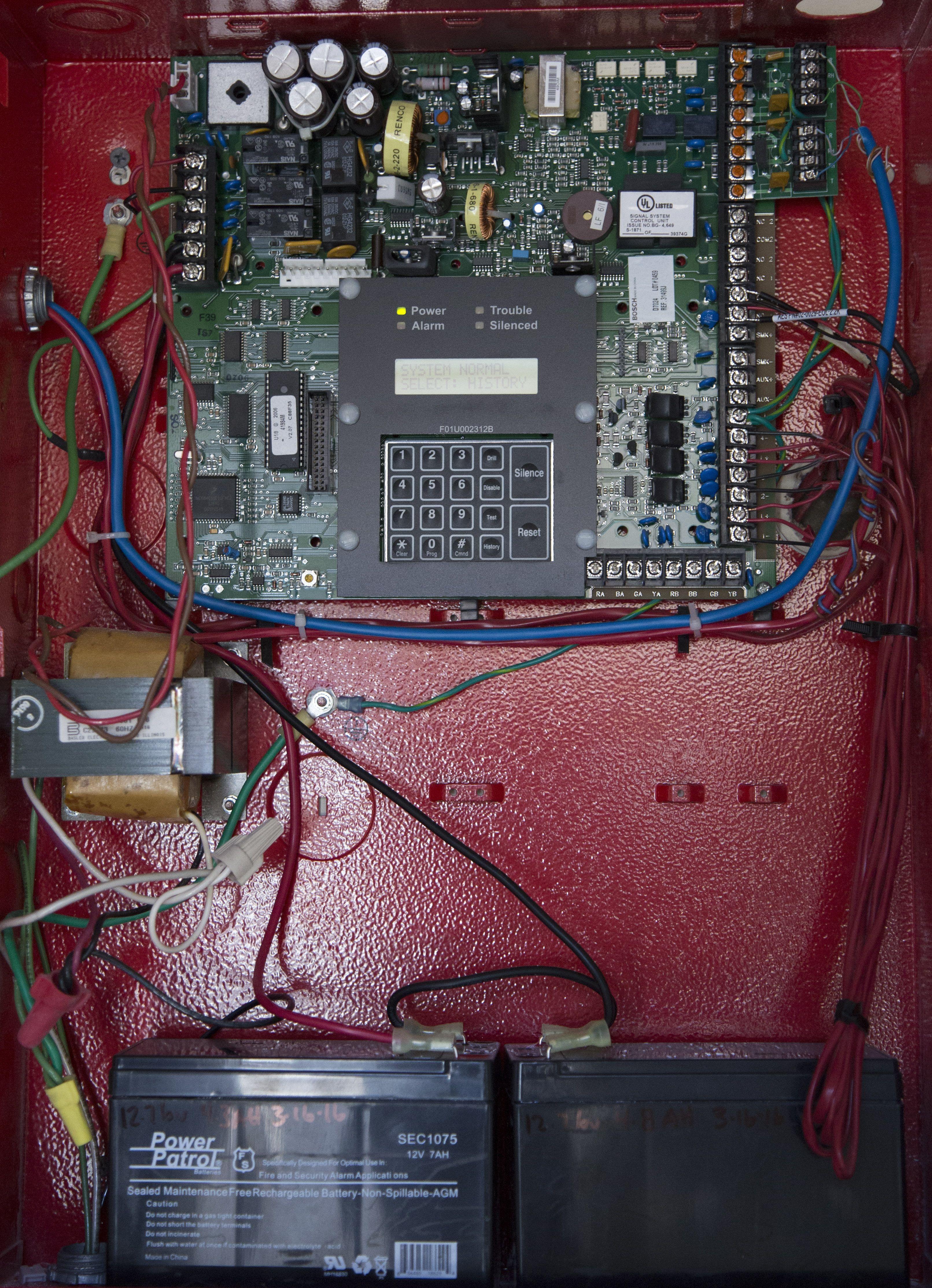 Low Cost Fire Alarm Circuit Schematic Diagram